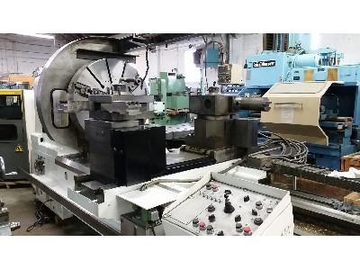 Lathes: USED MORI SEIKI LL8B-2500 CNC LARGE CAPACITY LATHE